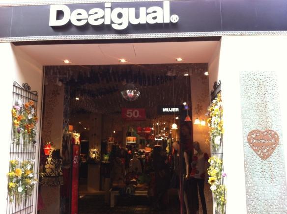 Nueva tienda Desigual en Valencia